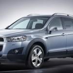 Chevrolet Captiva — рестайлинговый кроссовер
