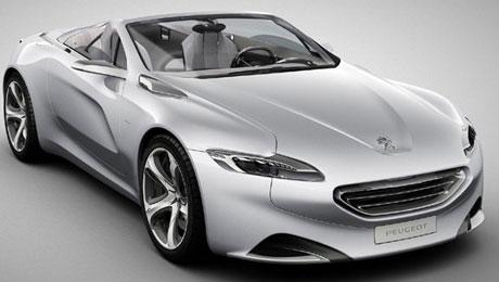 Представители компании Peugeot планируют выпустить новый концепткар под названием SR1