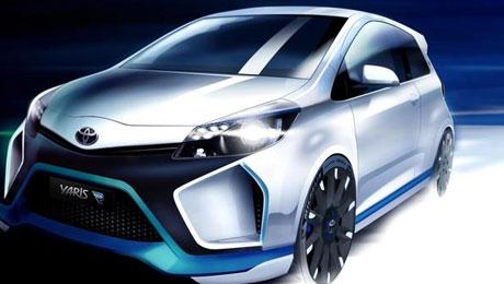 Toyota построила Yaris Hybrid-R Concept