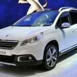 Peugeot (Пежо) обновит кроссовер модели 2008 квесне предстоящего года