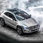 Mercedes GLA получит новое оборудование вСША