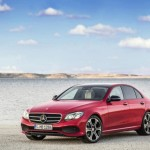 Mercedes E-Class получит новые двигатели летом 2016-ого