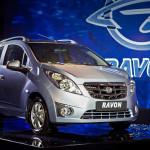 Шевроле Spark вернулся в Российскую Федерацию под брендом Ravon
