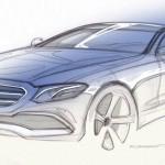 Benz продемонстрировал видеозапись нового седана E-Class W213