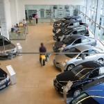 Автосалонов в Российской Федерации стало менее впервый раз с2009 года
