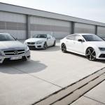BMW, Ауди и Мерседес Бенс увеличили продажи собственных авто в РФ