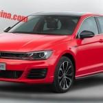 Намбы такую: VW продемонстрировал фото спортивного седана Lamando GTS