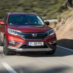 Хонда CR-V обновленного поколения появится в 2017
