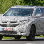 В2016 году Хонда презентует обновленный тип CR-V