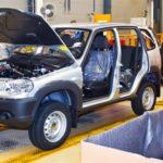 Производство Шевроле Niva вIполугодии снизилось на11%