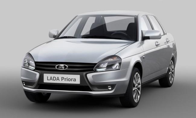 Российский АвтоВАЗ продолжает модернизировать модель LADA Priora