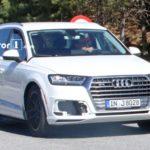 Премиальный автомобиль Ауди Q8 был замечен впроцессе пробных испытаний