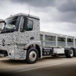 Daimler создал электрический фургон Мерседес-Бенс Urban eTruck