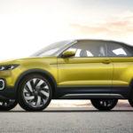 Новый компактный кроссовер VW представят в 2018