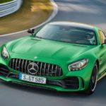 Эксклюзивный спорткар Mercedes проехался поулицам Берлина