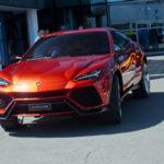 Кроссовер Lamborghini будет доступен в РФ