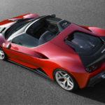 Феррари выпустила новый суперкар J50 специально для Японии