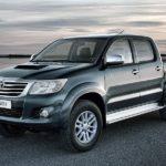 На русском автомобильном рынке подержанных пикапов лидирует Тоёта Hilux