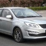Автомобильные шпионы выложили вСеть фото улучшенного седана Лифан 720