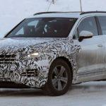 VW Touareg 3-го поколения покажут этой осенью