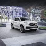 Benz представит 1-ый пикап на автомобильном салоне вЖеневе