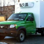 Новый фургон УАЗ заметили наиспытаниях