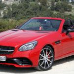 Mercedes реформирует линейку кабриолетов иродстеров