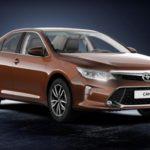 Тойота представила в РФ обновленную Camry