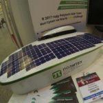 В РФ создадут 1-ый электромобиль насолнечных батареях
