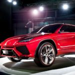 Кроссовер Lamborghini Urus тестируется натрассе Нюрбургринг