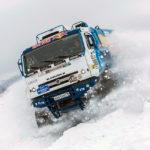 Летающая громадина: фургон «КАМАЗ-мастер» совершил нереальный прыжок