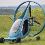 В РФ построили летающий автомобиль