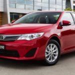 Тойота Camry стала лидером продаж всвоем сегменте в РФ