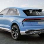 Внедорожное купе Ауди Q8 тестируется в РФ