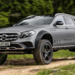 Заводской вседорожный автомобиль отMercedes изE-Class