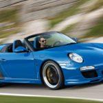 Порше 911 Speedster презентуют воФранкфурте