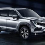 Кроссовер Хонда Pilot 2017 модельного года появился в Российской Федерации