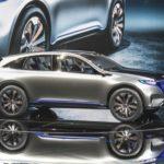 Benz начал принимать предварительные заказы накроссовер EQ