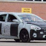 Форд Focus обновленного поколения «засветился» навидео