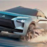 Митцубиши показала концептуальный автомобиль e-Evolution сискусственным интеллектом