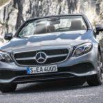 Названы русские цены накабриолет Mercedes E-Class обновленного поколения