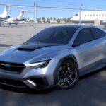 Концептуальный автомобиль Субару приоткрыл завесу над будущим WRX