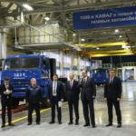 КАМАЗ собирается выпустить 1 000 авто наприродном газе в 2018г