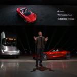 «Как пуля»: Tesla представила прототип электрогрузовика