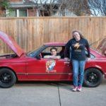 Ребенок изсоедененных штатов собрал электромобиль набазе Тойота Celica 1980 года
