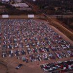 ВСША сфотографировали своздуха огромную парковку стысячами «дизельгейтных» VW