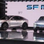 Китайская компания Sokon презентовала джип сэлектрической установкой