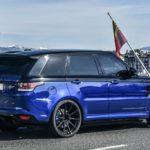 Range Rover Sport SVR получит облегченную версию