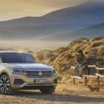 VW Touareg 3-го поколения стал легче иинтеллектуальнее