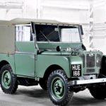 Британская автомобильная компания Ленд-Ровер празднует собственный 70-летний юбилей